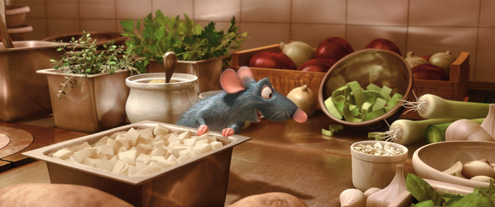 Ratatouille page one for Art and cuisine cookware reviews