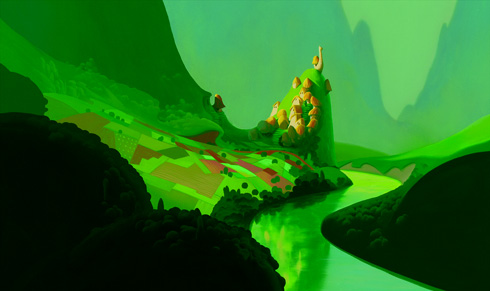 Kuzco, l'Empereur Mégalo [Walt Disney -2001] - Page 6 Background_painting_two